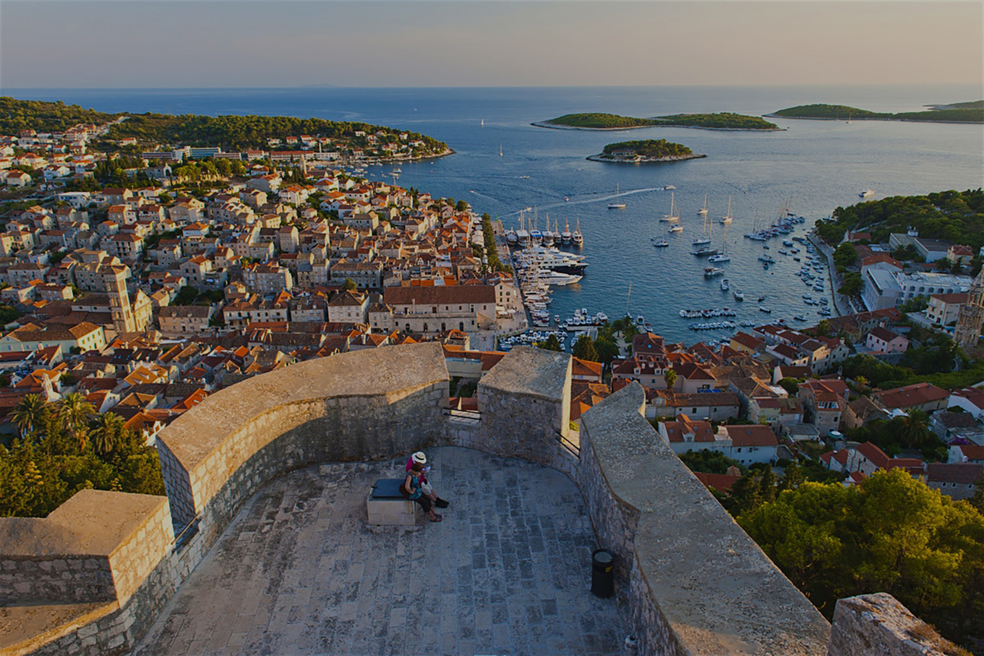 Hvar - View from the fortress image